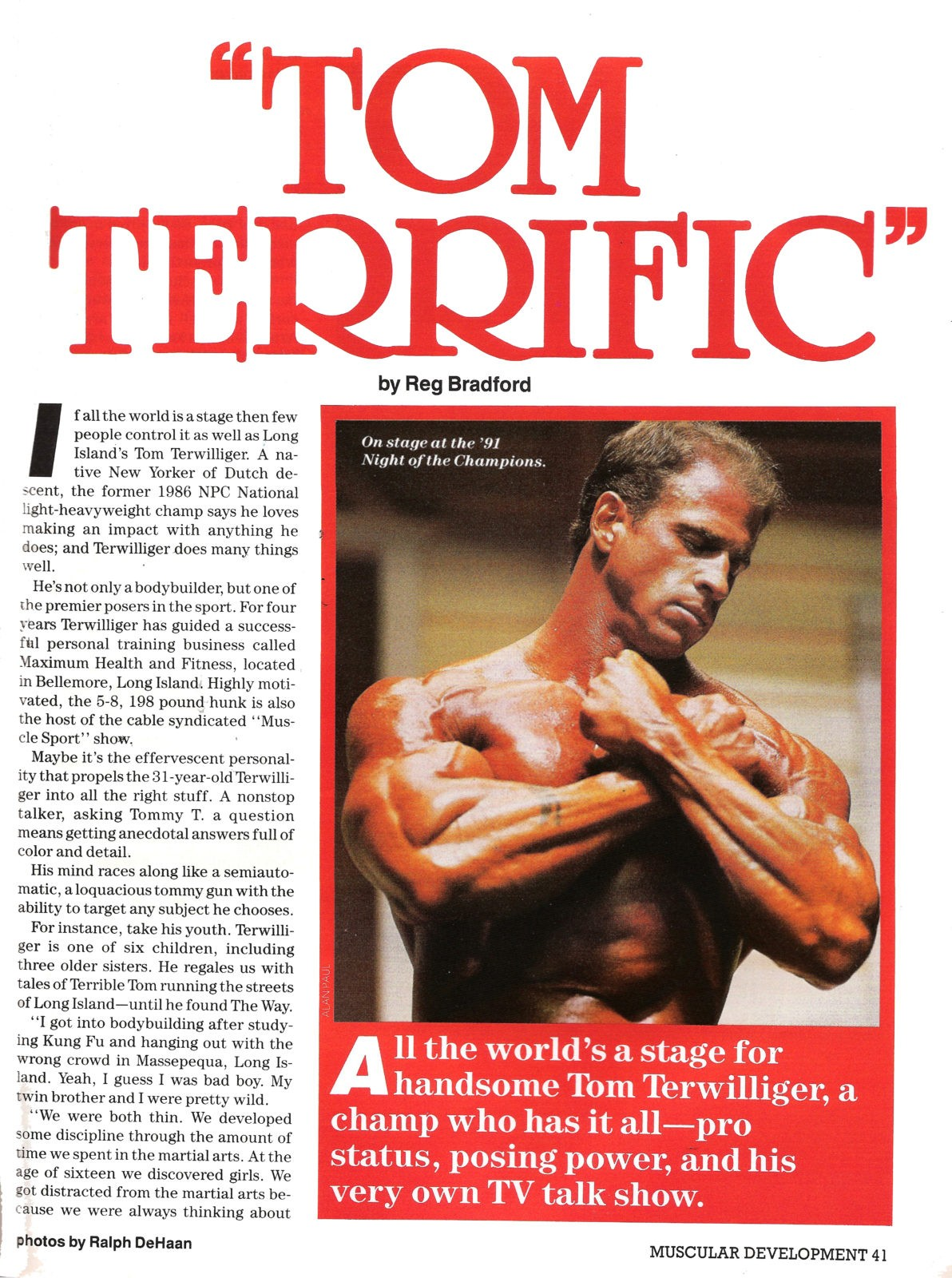 ARTICLE-Tom-Terrific-Muscular-Dev-1991-Tom-Terwilliger